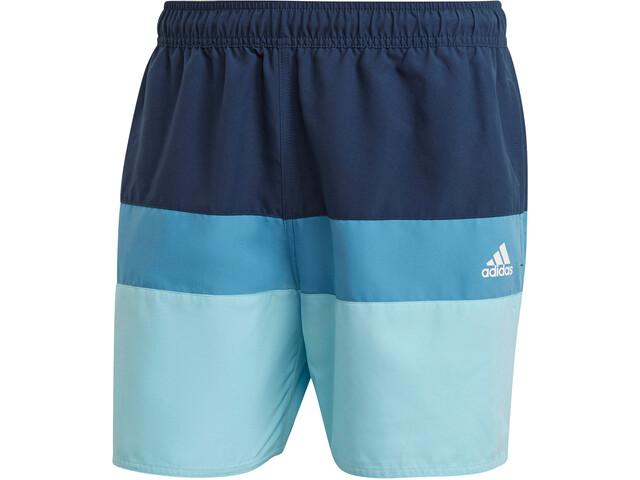 adidas Block CLX Short Length Shorts Men, azul